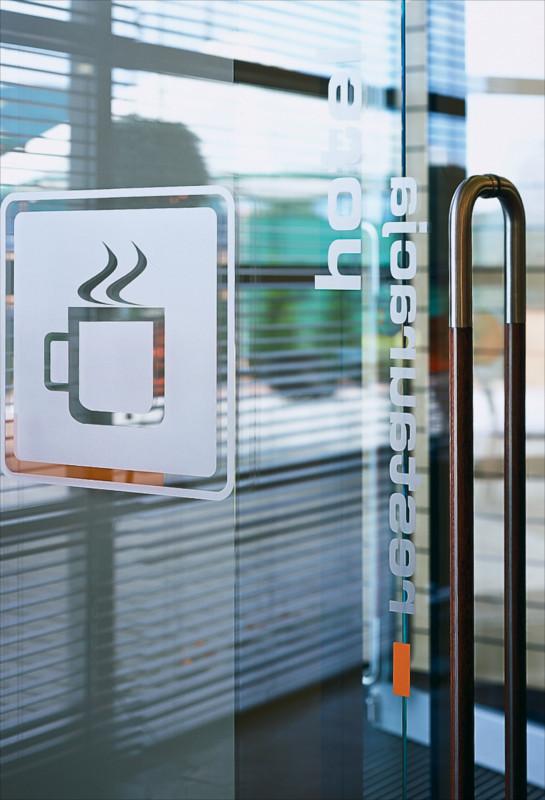 Drzwo do sali konferecyjnej - Kortowo
