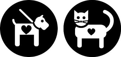 Pies i kot - Ikona - Kortowo