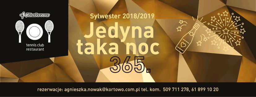 Sylwester 2018/2019 - Kortowo Hotel