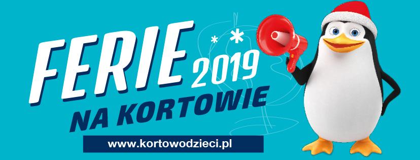 Ferie 2019 na Kortowie - Zapraszamy