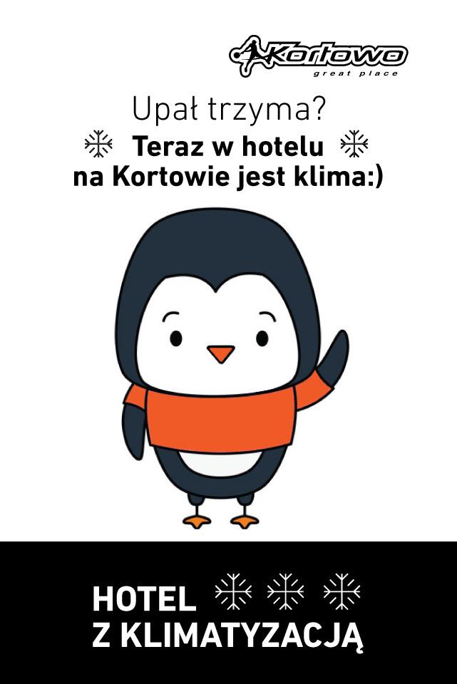 Hotel z klimatyzacją - Kortowo