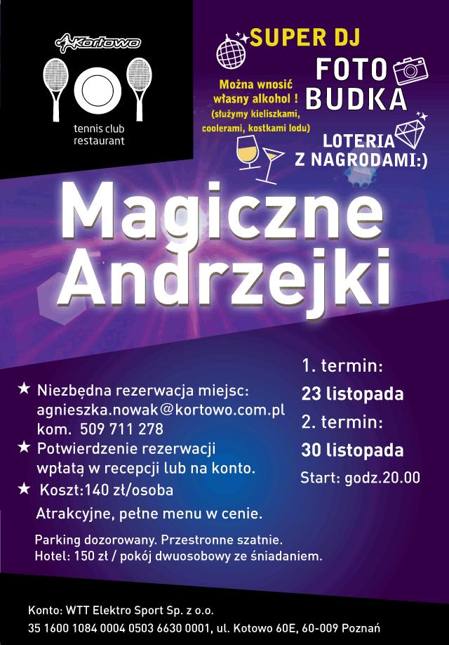 Andrzejki 2019 - Kortowo
