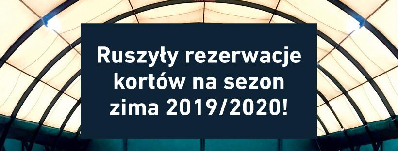 Ruszyły zapisy na sezon zimowy 2019/20